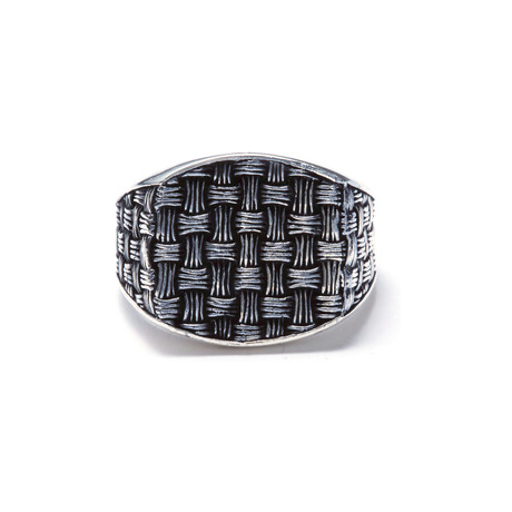 Woven Knot Ring (Size 8.5)