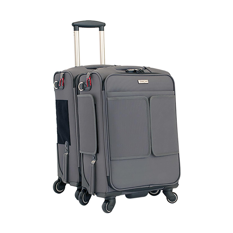 tach modular luggage   piece set (black)  tach luggage  touch  - tach modular luggage   piece set (black)
