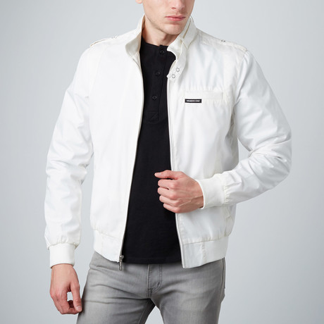 Racer Jacket // White