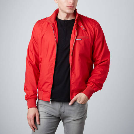 Racer Jacket // Red