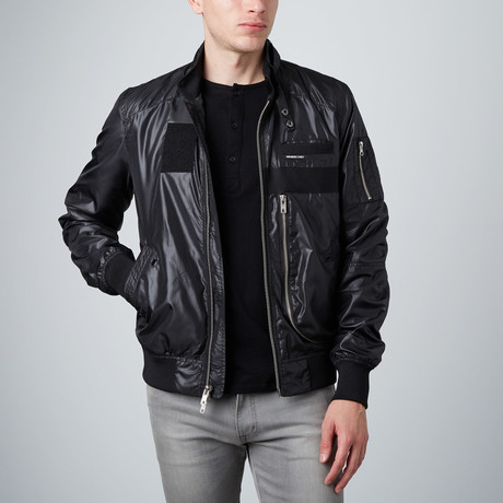 Helix Racer Jacket // Black