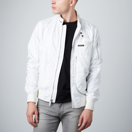 Helix Racer Jacket // White