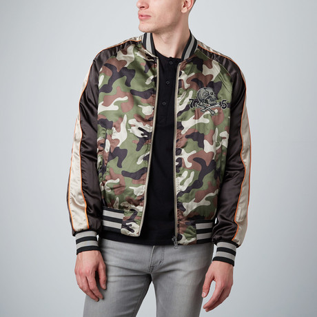 Reversible Souvenir Jacket // Camo