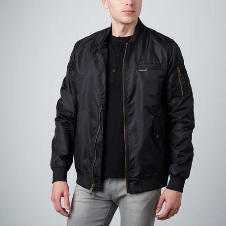MO-1 Bomber Jacket // Black