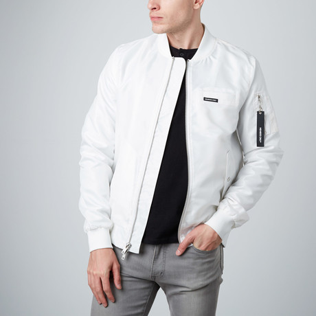 MO-1 Bomber Jacket // White