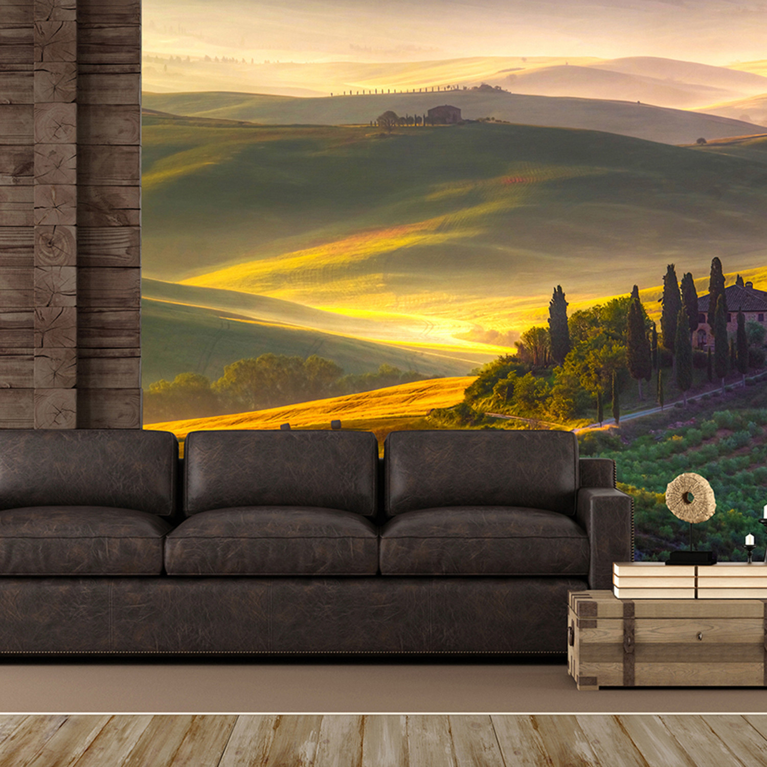 Toscana wall mural brewster home fashions touch of modern for Brewster wall mural
