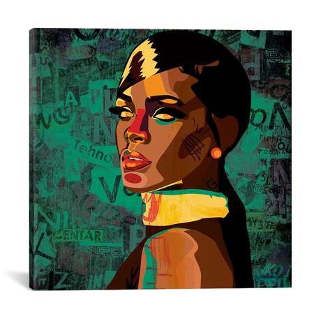 """Rihanna I (18""""W x 18""""H x 0.75""""D)"""