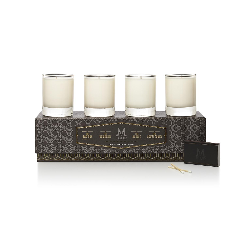 Interior design home fragrance gift set - Men S Home Fragrance Candles Votive Gift Set