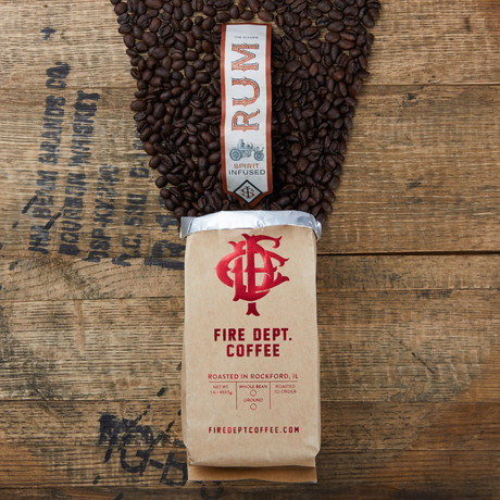Fire Department Coffee - Spirit Infused Coffee - Touch Of ...