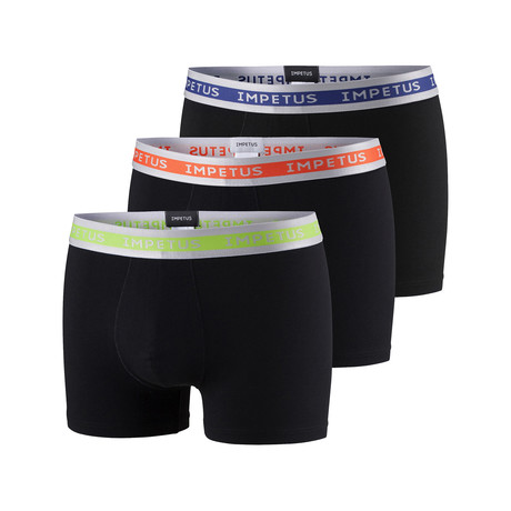 Boxer Brief // Black // Pack of 3