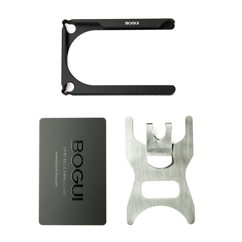 0aeaaf034491 BOGUI Clik Wallet (Black) - Keysmart - Touch of Modern