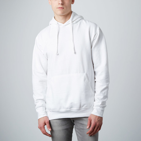 Fashion Fit Hoody // White (S)