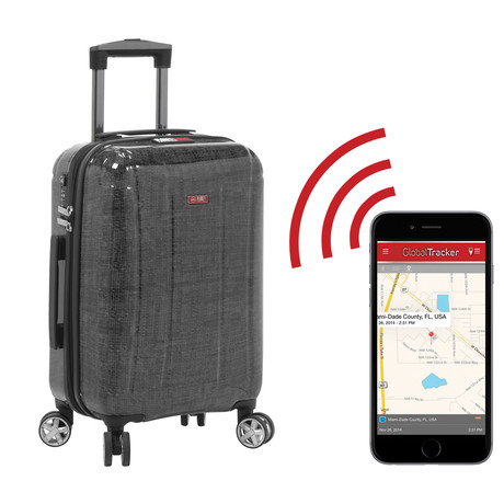 best gadgets in usa planet traveler usa smart tech hardside spinner 22701