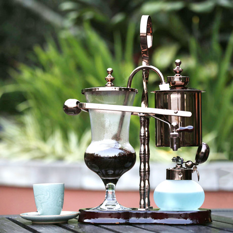 Black Ivory Coffee Brewer