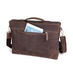Loren Leather Briefcase