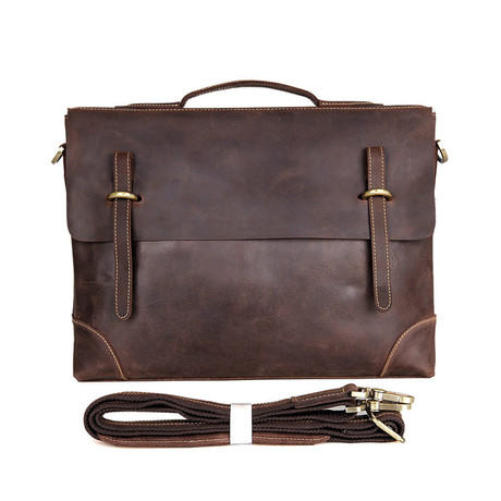 Loren Leather Briefcase