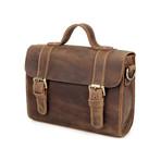Ren Leather Messenger Bag