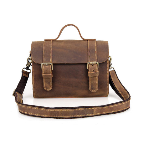 Ren Leather Messenger Bag