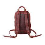 Quill Vintage Leather Backpack