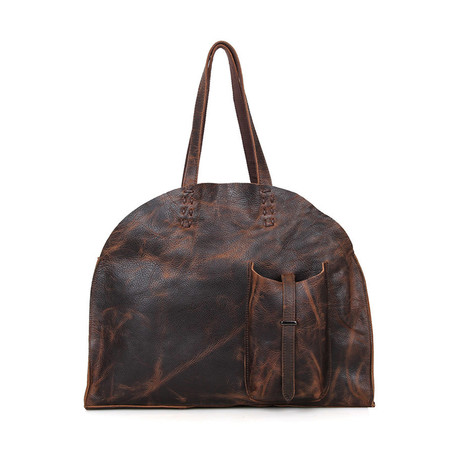 Laslie Leather Tote Bag