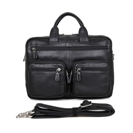 Baddington Leather Briefcase