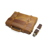 Marris Leather Briefcase