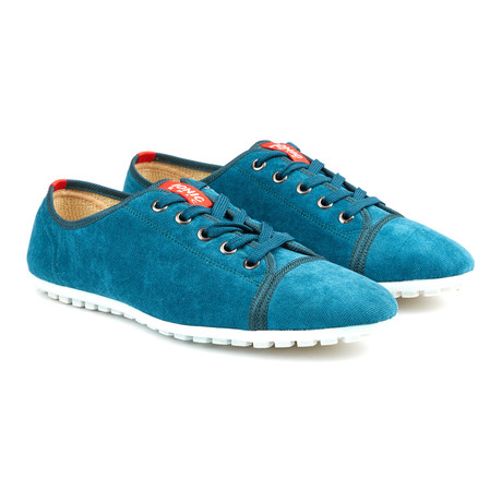 Runner Lace-Up Sneaker // Blue (US: 7)