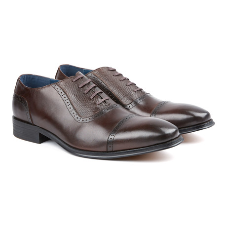 Classic Cap-Toe Oxford // Dark Brown