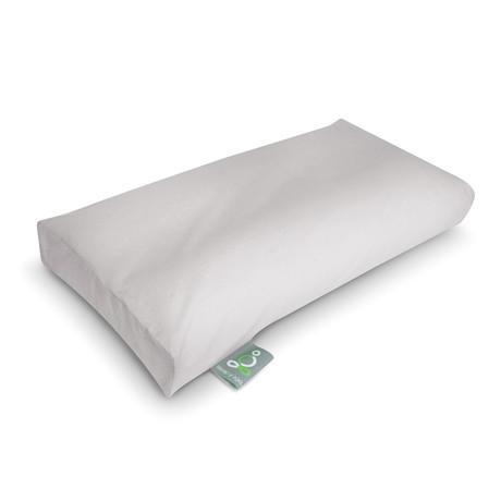 Sleep Yoga // Knee Pillow Cover // White (One Size)