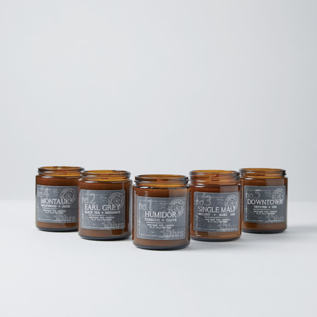 Men's Candle Collection // Set of 5