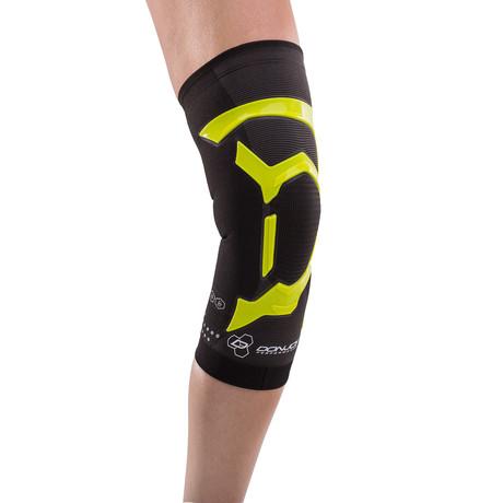 Trizone Left Knee Brace // Green (S)