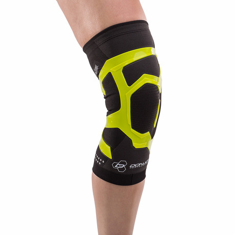 Trizone Right Knee Brace // Green (S)