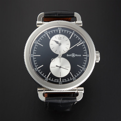 Bell & Ross Vintage WWII Regulateur Automatic // BRWW2-REG-BS/SCR // Store Display