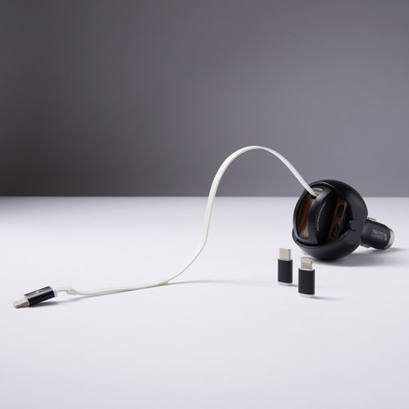 Iron Guardian // Onyx Black (Micro USB)