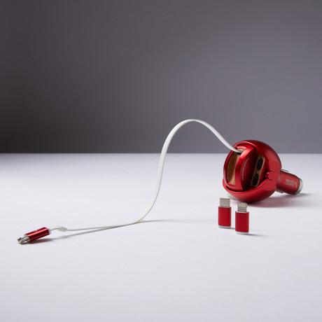 Iron Guardian // China Red (Micro USB)