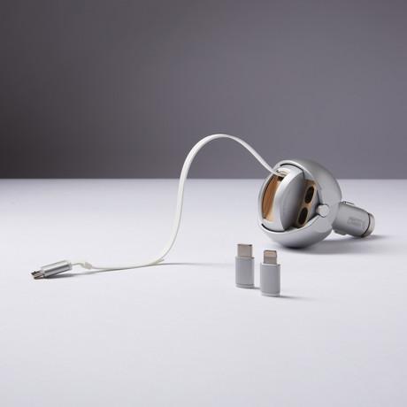 Iron Guardian // Silver (Micro USB)