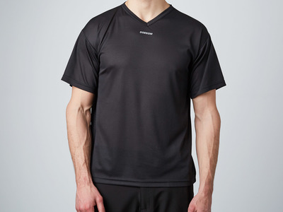 Touch Of Modern - Dobsom Sweden  Functional Clothing for Athletes V-Neck Shirt // Black (XS) Photo
