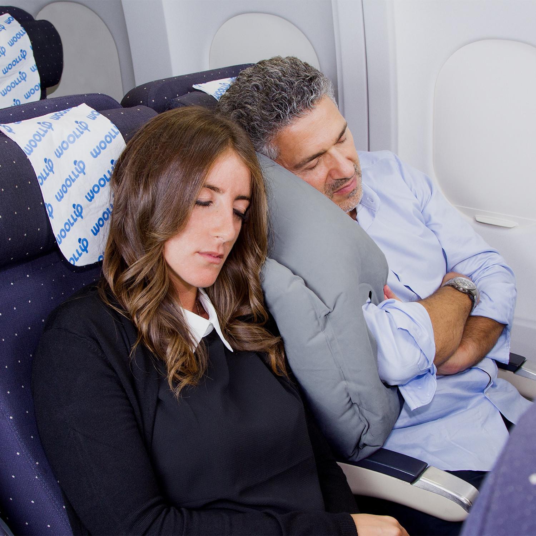 Tate Modern Travel Pillow : Woollip Travel Pillow // Grey - WOOLLIP - Touch of Modern