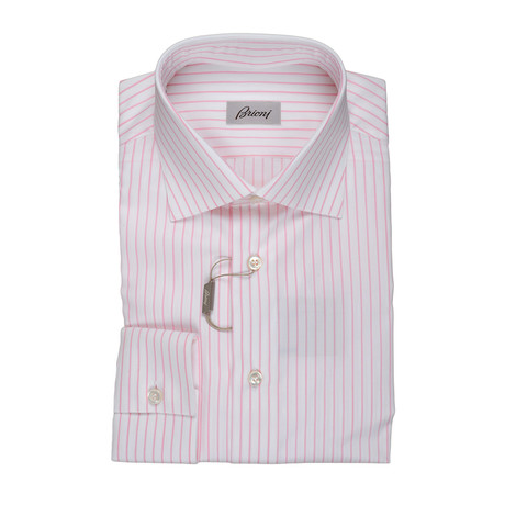 Genovese Dress Shirt // Pink