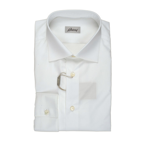Monte Dress Shirt // White