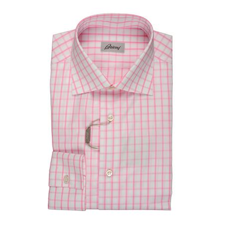 Barzetti Dress Shirt // Pink