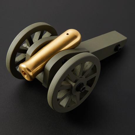 Reenactor II Mini Cannon // Brass