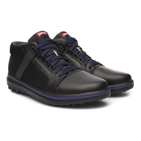 Pelotas Unball Mid-Top Sneaker // Black