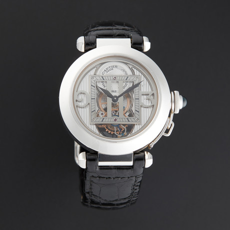 Cartier Pasha Tourbillon Manual Wind // W3030021 // Pre-Owned