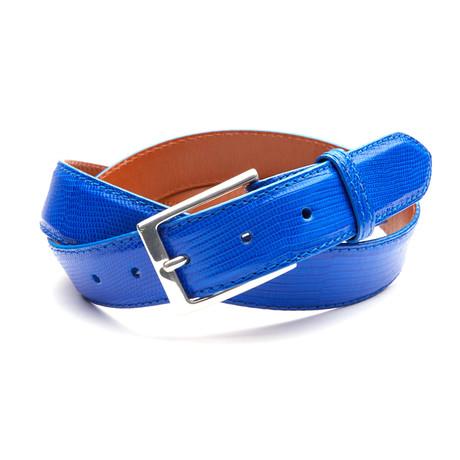 32mm Lizard Belt // Royal Blue (32)