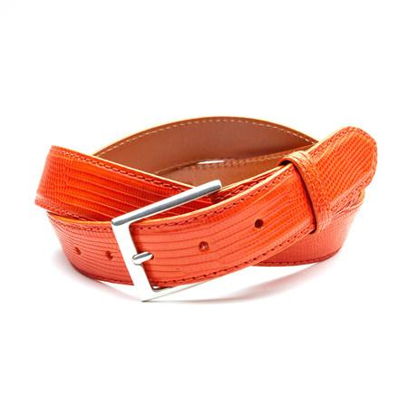 32mm Lizard Belt // Orange