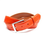 32mm Lizard Belt // Orange (32)