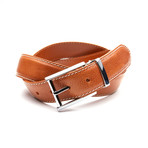 35mm Italian Calf Belt // Camel (32)