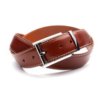 35mm Italian Calf Belt // Cognac (32)