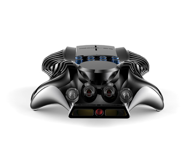 Photo of Metaxas & Sins Artistic Audio Sculpture Solitaire Stereo Integrated Amplifier (Adonized Black) by Touch Of Modern